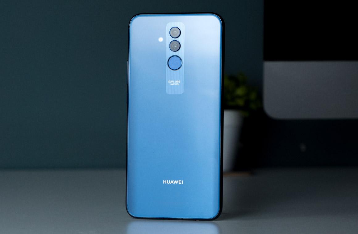Huawei Mate 20 Lite вид сзади