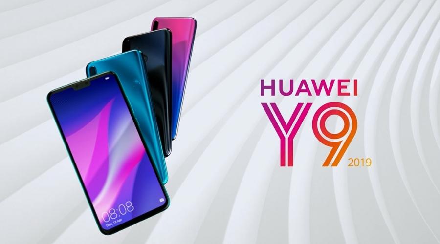 Huawei Y9 2019 цвета