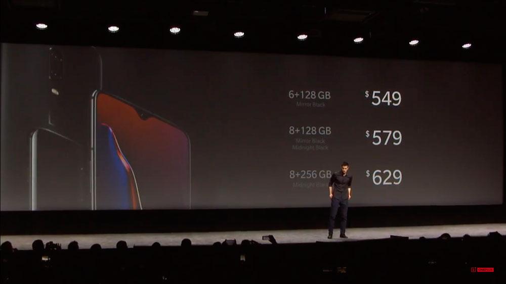 OnePlus 6T цены