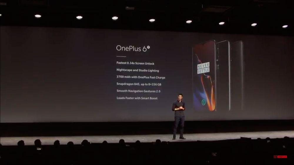 OnePlus 6T характеристики