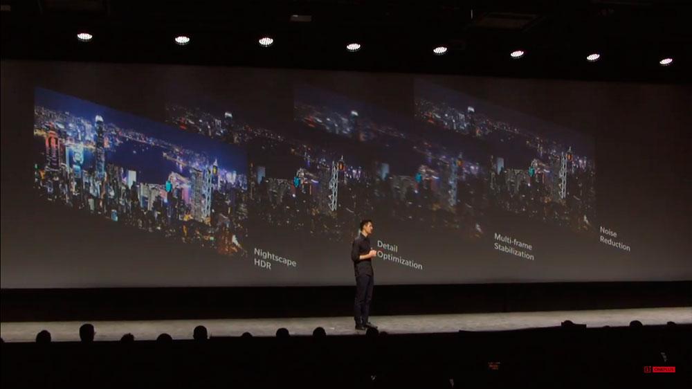 OnePlus 6T ночной режим