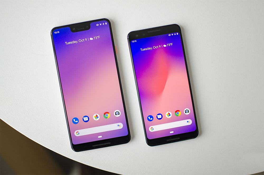 Сравнение Pixel 3 и Pixel 2