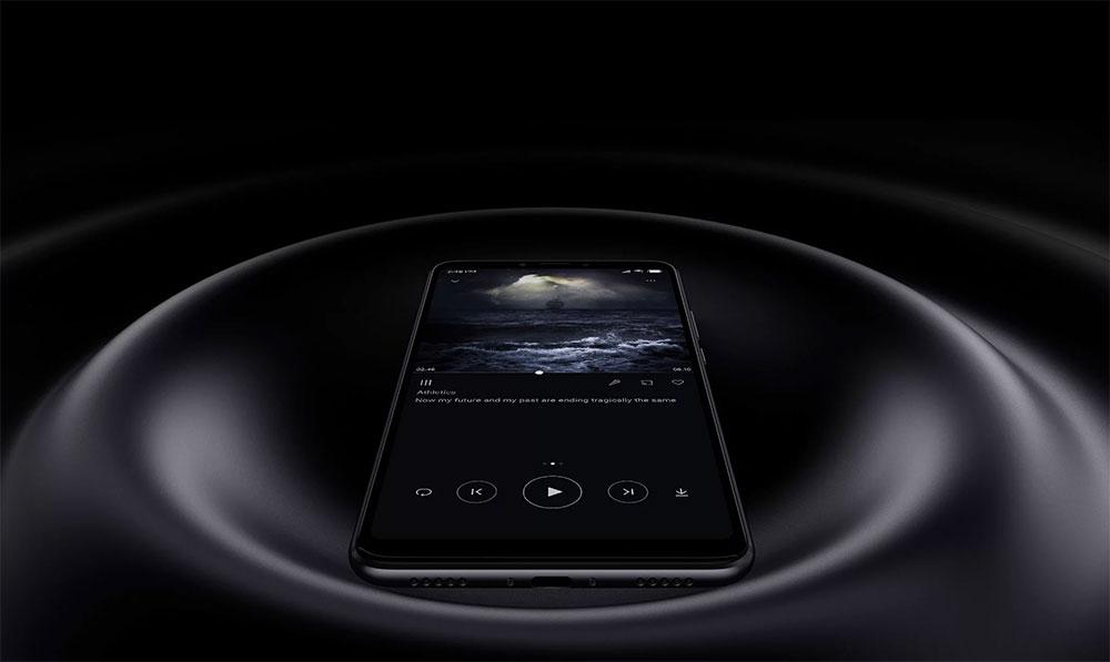 Имитация звуковых волн от Xiaomi Mi Max 3
