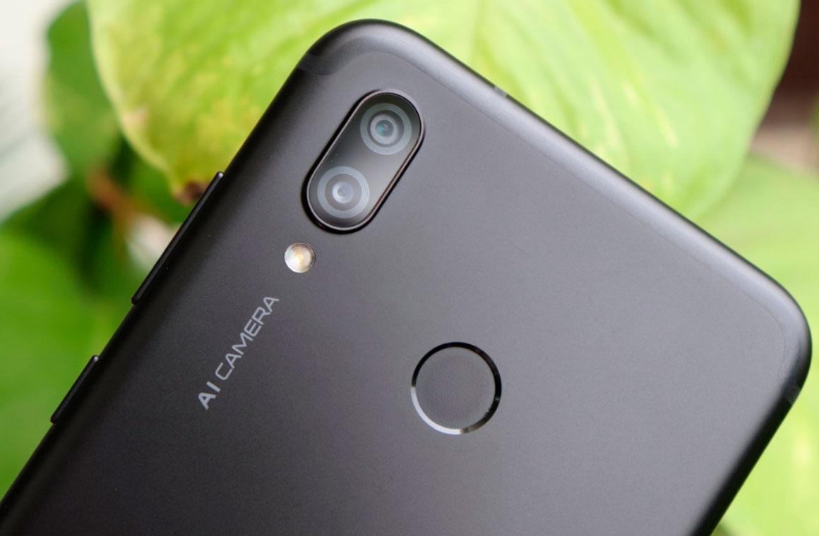 Huawei P Smart (2019) сзади