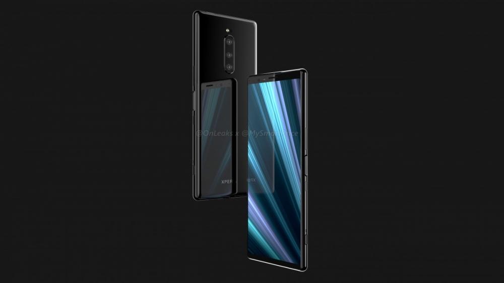 Sony Xperia XZ4 рендер
