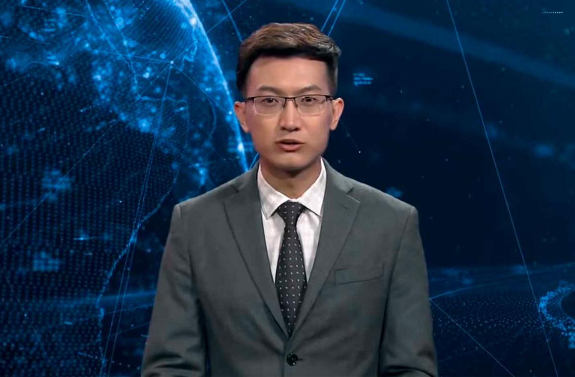виртуальный ведущий новостей