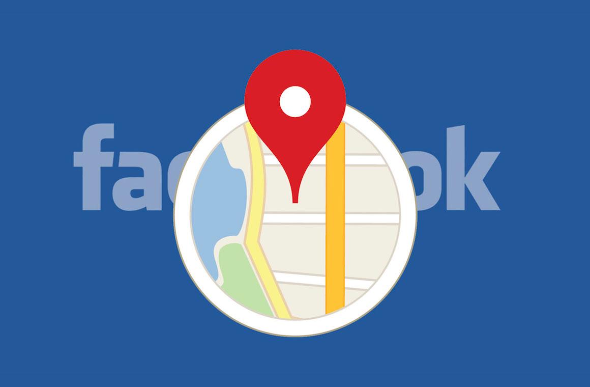 отслеживание местоположения в Facebook