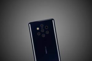 Nokia 9 PureView вид сзади