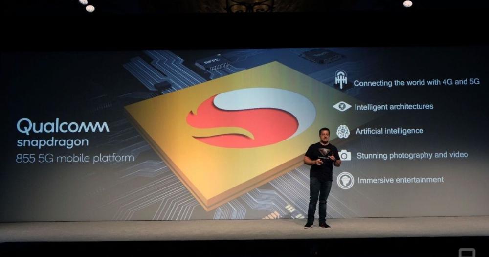 презентация Snapdragon 855