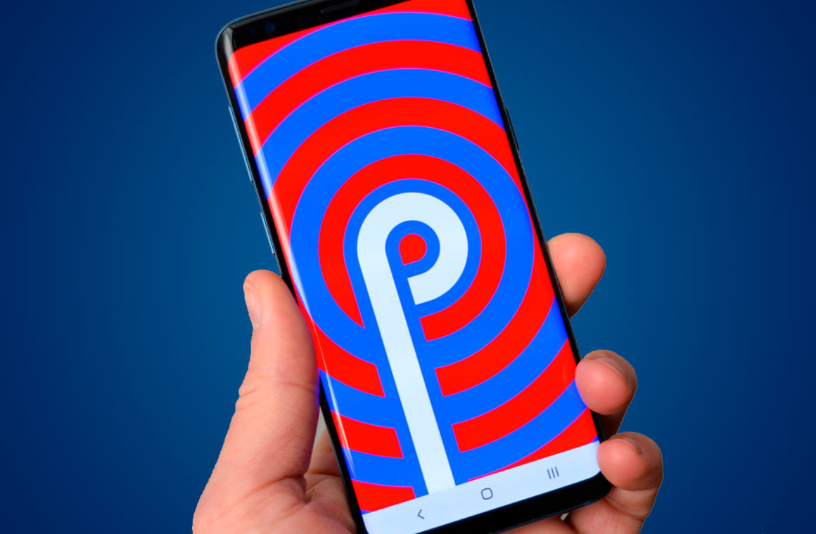 Samsung Galaxy S9 на Android Pie