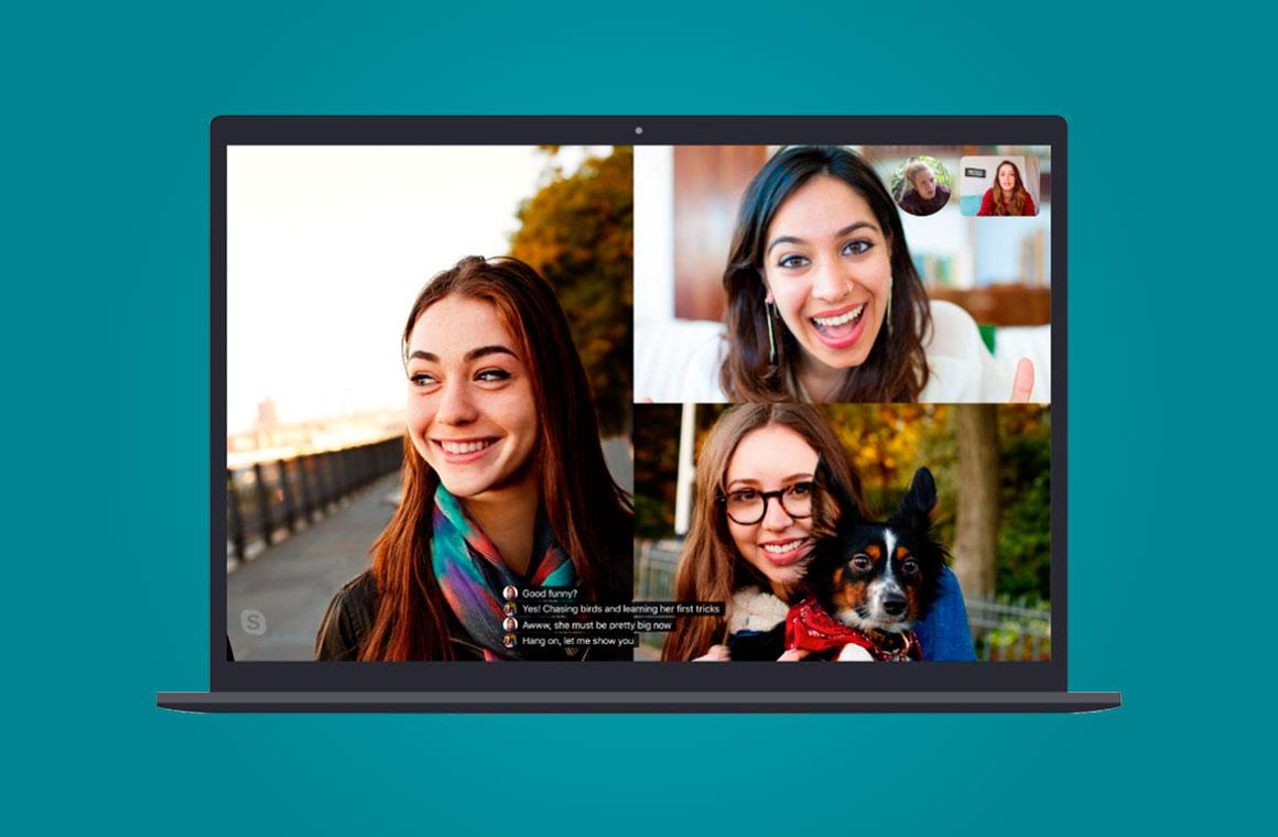 Субтитры в Skype