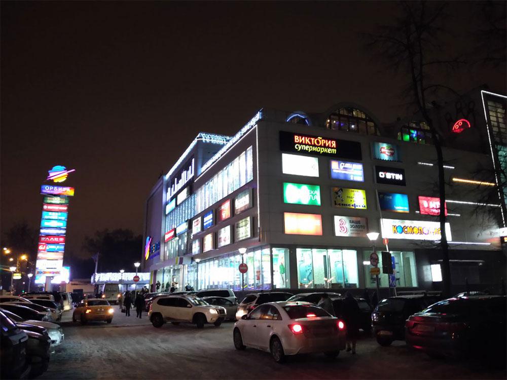 Asus ZenFone Max M2 тест фото ночь