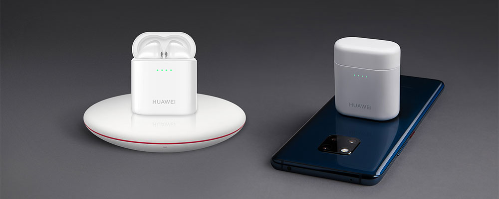 Huawei FreeBuds 2 Pro беспроводная зарядка