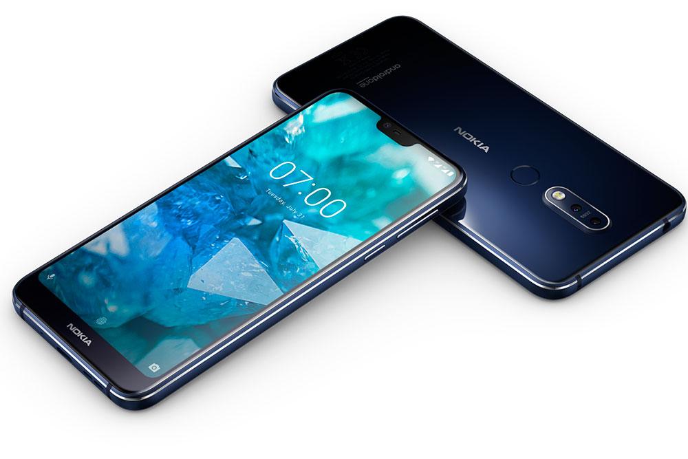 Внешний вид Nokia 7.1