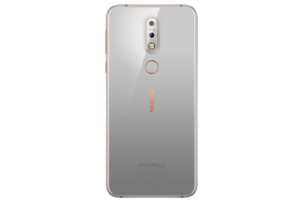 Nokia 7.1 в сером цвете