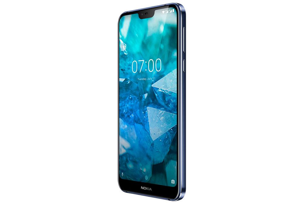 Nokia 7.1 вид сбоку