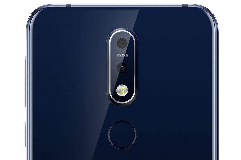 Zeiss камера Nokia 7.1