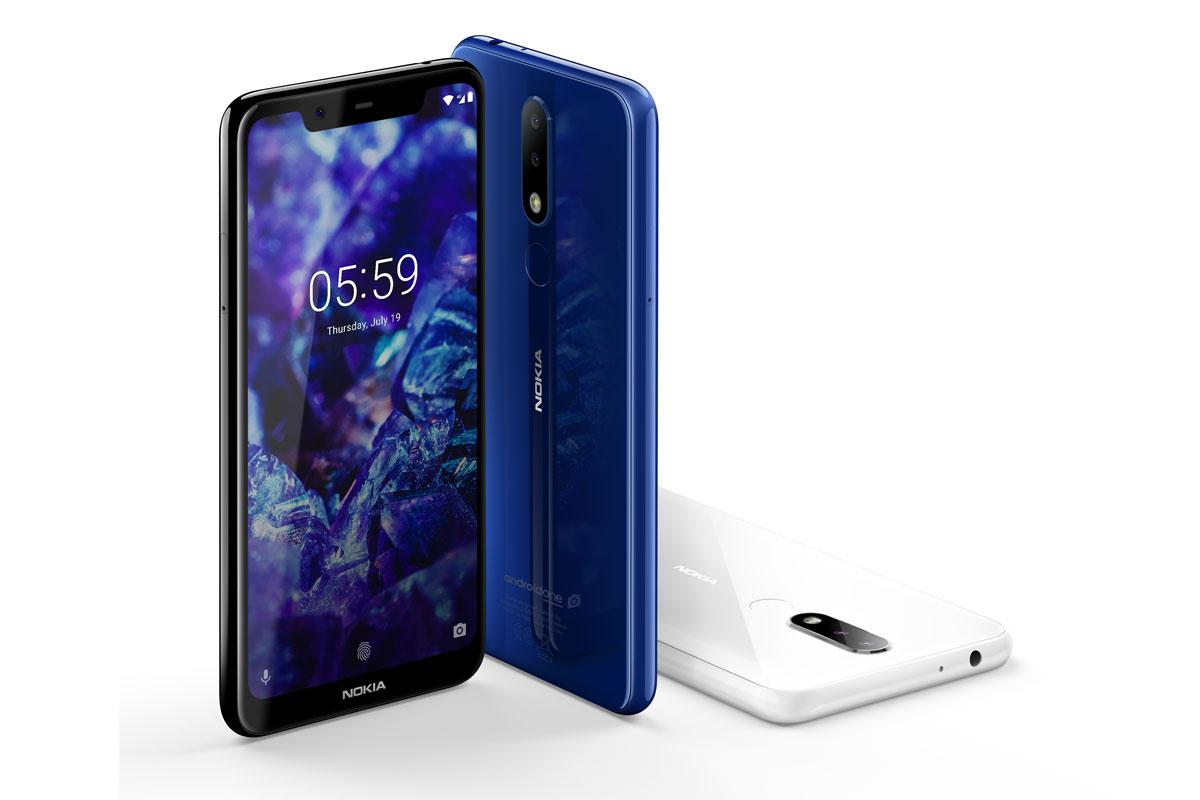 Смартфоны Nokia 5.1 Plus