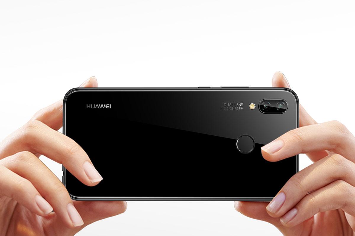 Huawei P20 Lite в руках