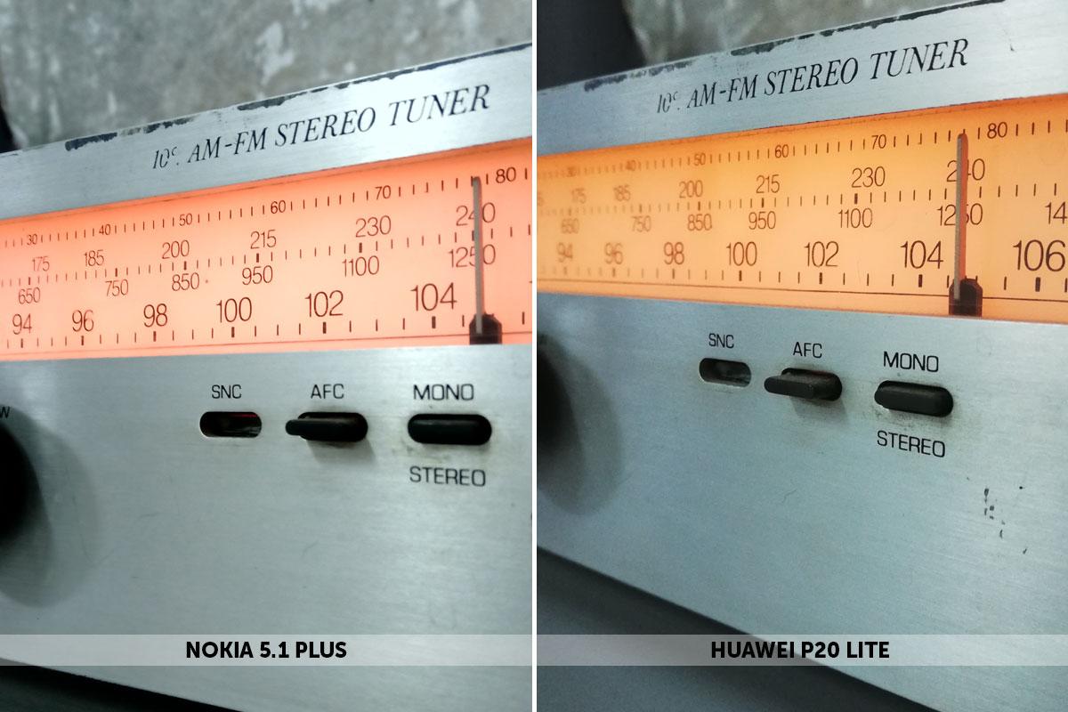 фотографии на Nokai 5.1 Plus и Huawei P20 Lite