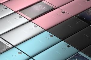 Смартфоны Sony Xperia XA2 разных цветов