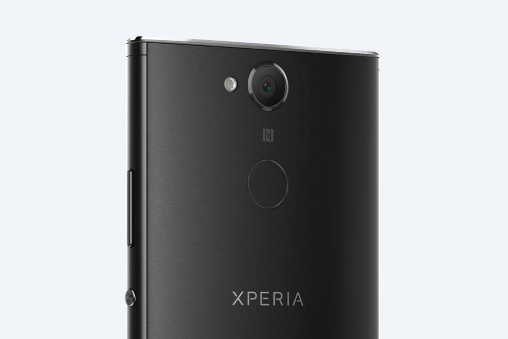 Sony Xperia XA2 вид сзади