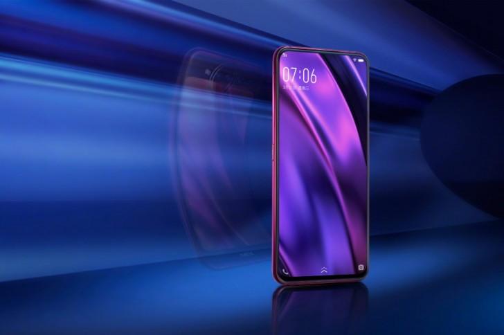 vivo nex dual display edition спереди