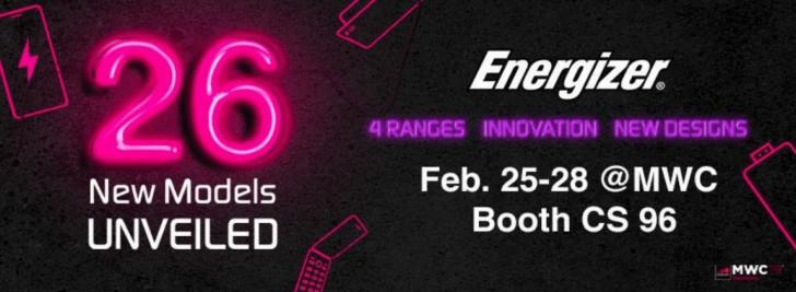 Energizer на MWC 2019