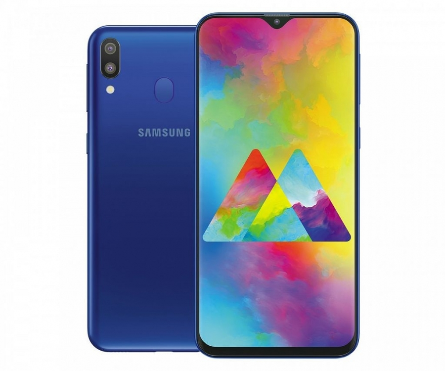 Samsung Galaxy M20 сзади и спереди