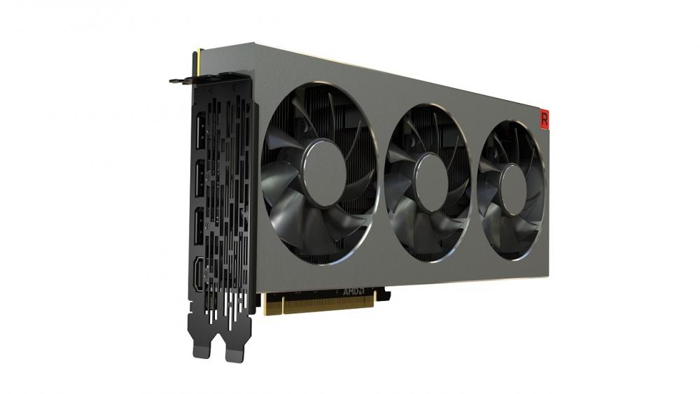AMD Radeon VII разъемы