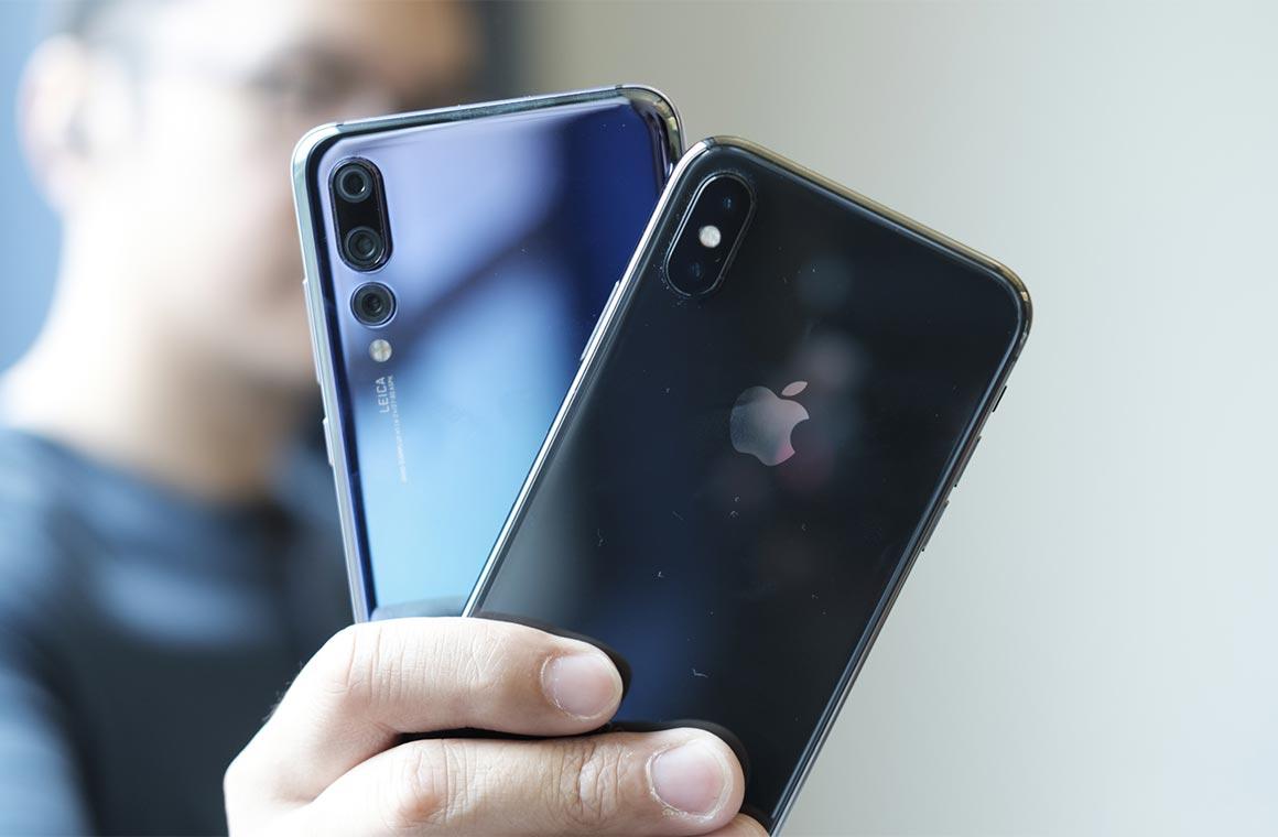 Apple и Huawei
