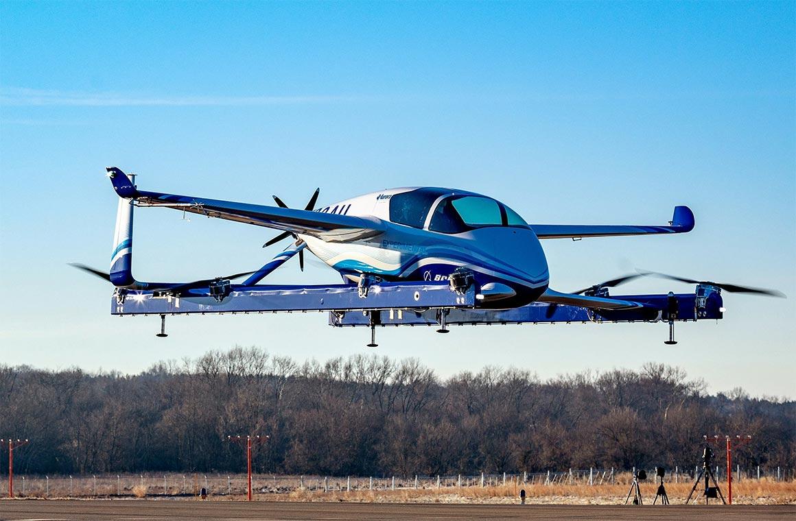Электрический самолет Boeing