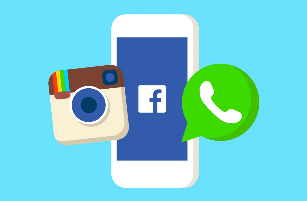 Facebook Messenger, Instagram и WhatsApp
