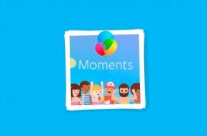 приложение Moments