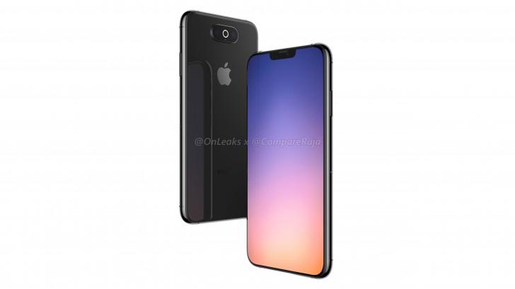 iPhone XI спереди и сзади