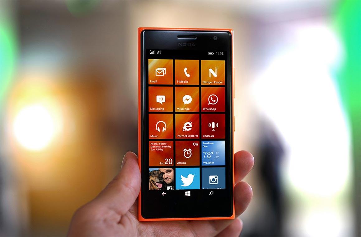 Смартфон на Windows 10 Mobile
