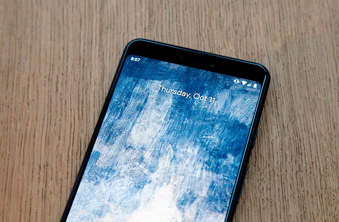 Google Pixel 3 Lite экран