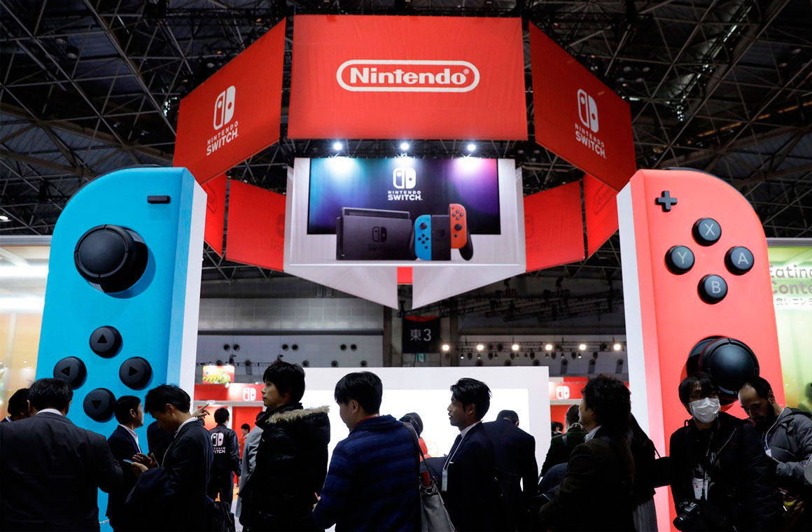Nintendo стенд