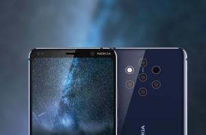 Nokia 9 PureView сзади и спереди