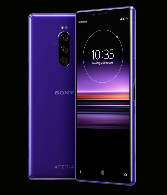 Sony Xperia 1 рендер