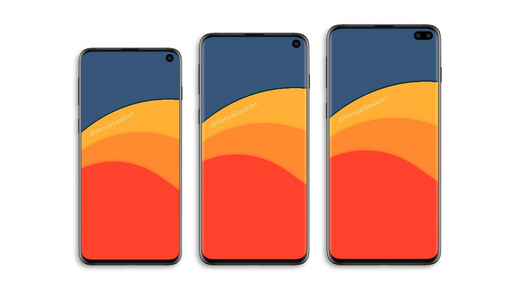 Samsung Galaxy s10e, Galaxy S10 и Galaxy S10 Plus