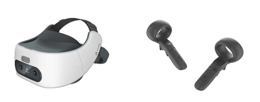 VR-шлем и контроллера HTC Vive Focus Plus