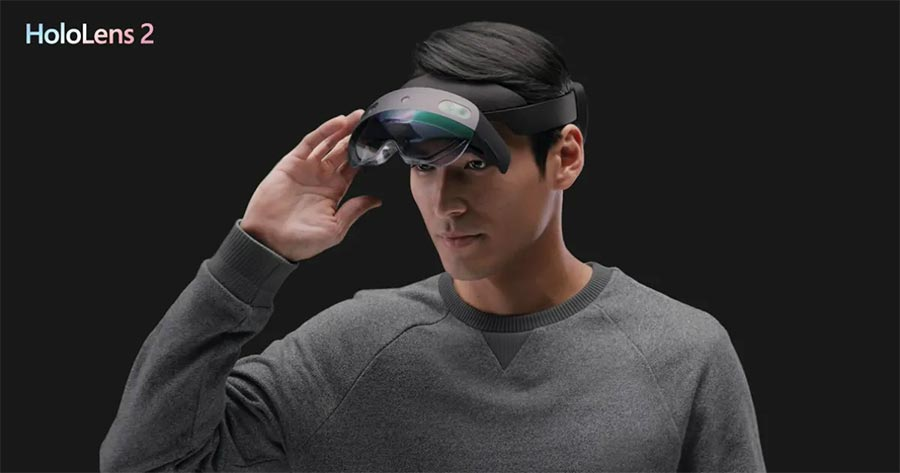 Официальное фото Microsoft HoloLens 2