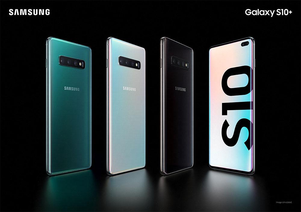 Samsung Galaxy S10 Plus дизайн