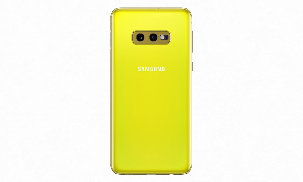 Samsung Galaxy S10e желтый