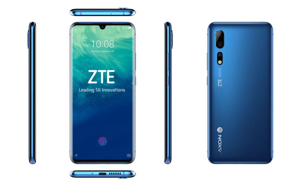 ZTE Axon 10 Pro внешний вид