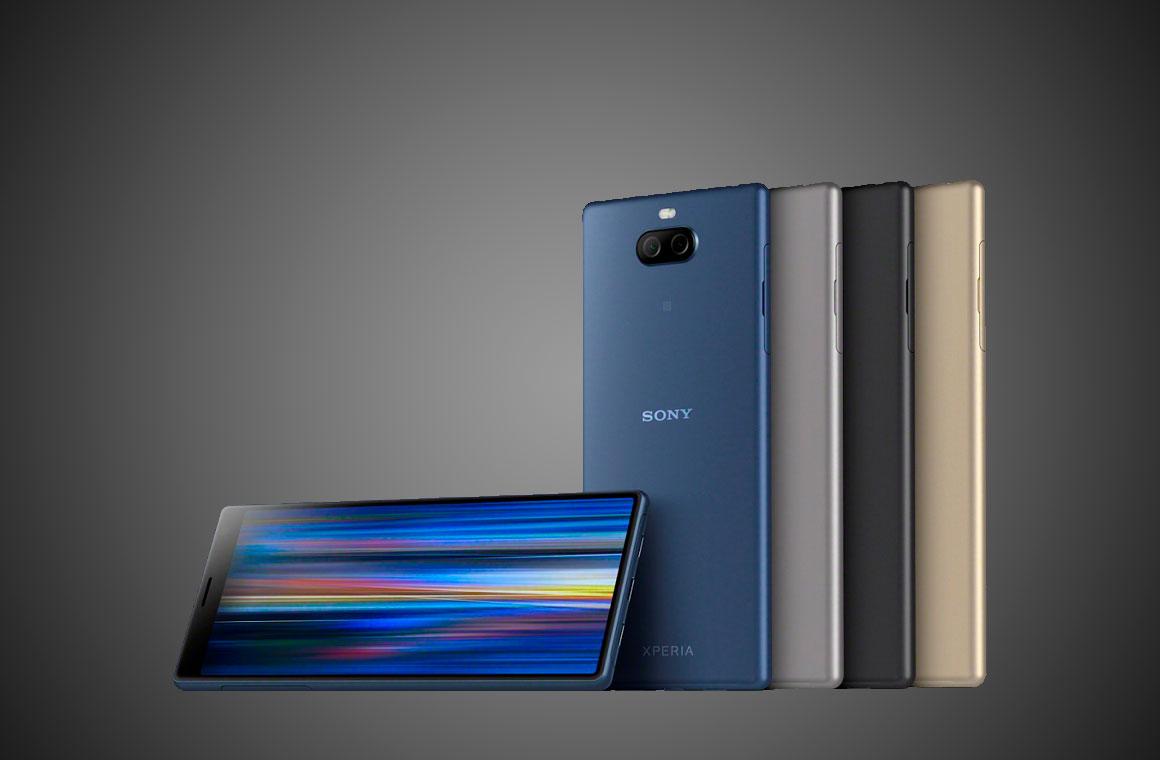 Sony Xperia 4 цвета