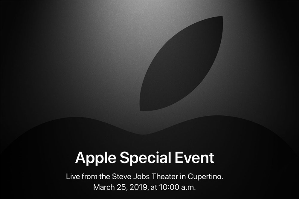 Apple event 25 march