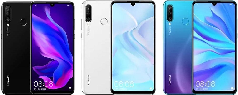 Huawei Nova 4e дизайн
