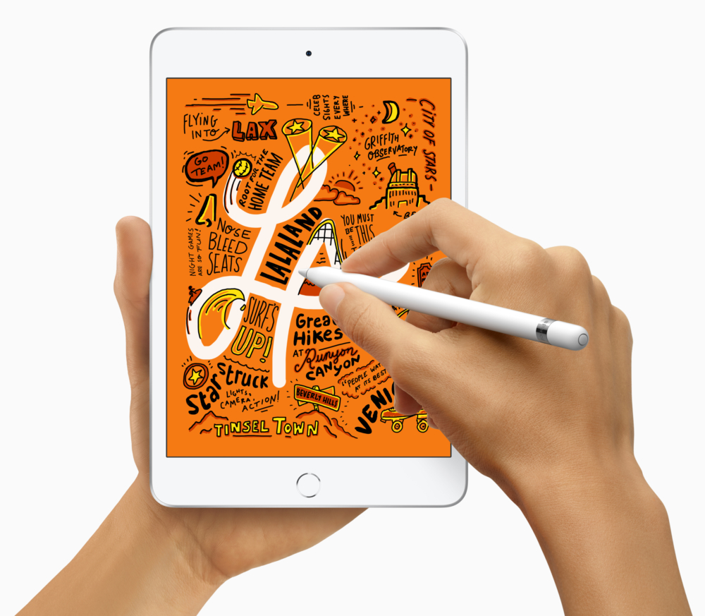 iPad Mini с Apple Pencil